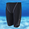 POQSWIM Swimming Men's Trunks Shark Skin Fabric Swim Jammers