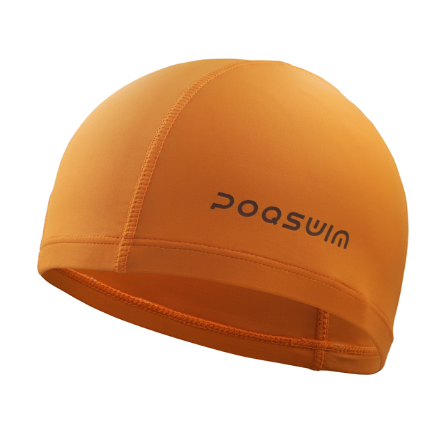 POQSWIM Solid Lycra Swim Cap Long Hair Swim Cap