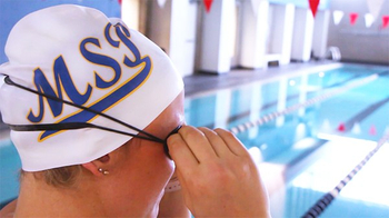 The importance of swim caps to swim events